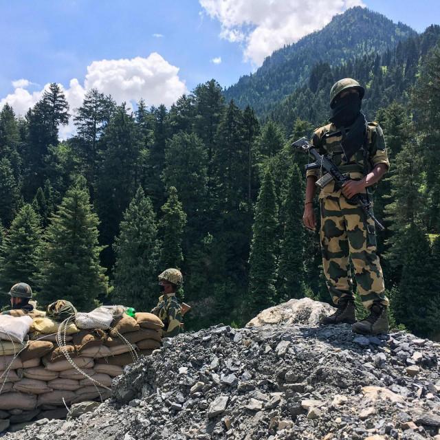 Indijski vojnici na granici s Kinom