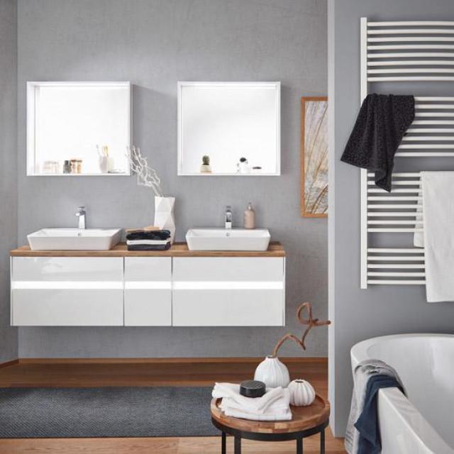 Model Unique, NV.63, program sastavljivih kupaonica ima XXXL izbor boja, materijala i elemenata za individualno kombiniranje, robna marka Novel, Lesnina XXXL