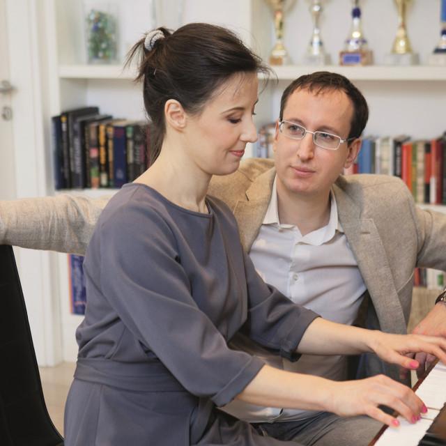 Dalija Orešković i Frane Letica