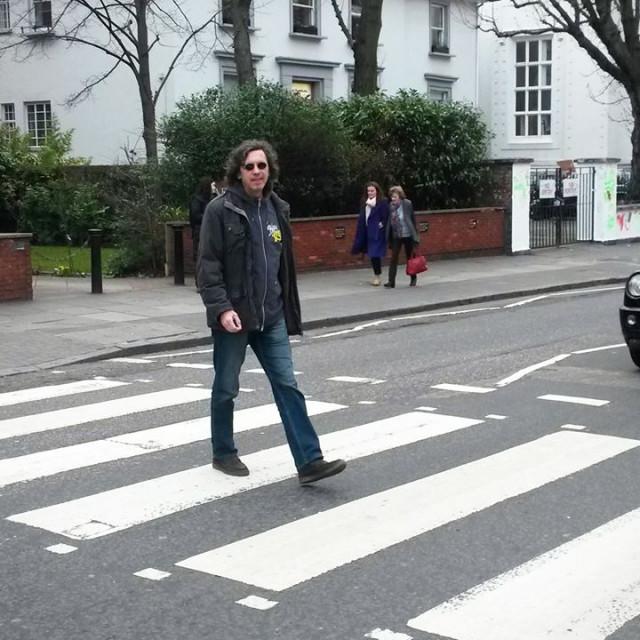Jurica Pađen na najpoznatijoj zebri svijeta 2015. (Abbey Road, London)