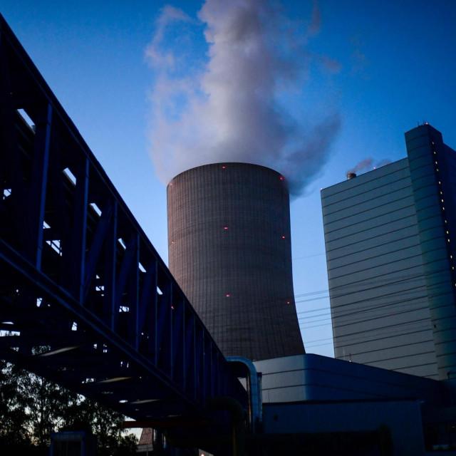 Tvornica na ugljeni pogon u Dattelnu u Njemačkoj