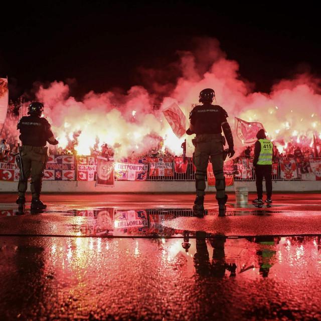 Utakmica Partizan - Crvena zvezda