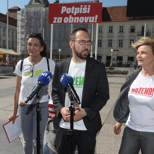 Urša Raukar Gamulin, Tomislav Tomašević i Sandra Benčić