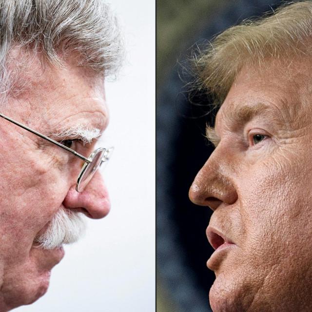John Bolton i Donald Trump