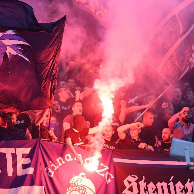 Zagreb, 170620.<br /> Stadion Maksimir.<br /> Hrvatski Telekom Prva Liga, 1.HNL, 29. kolo, seniori, utakmica GNK Dinamo - NK Slaven Belupo.<br /> Na fotografiji: BBB.<br />