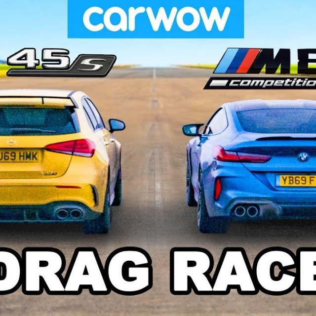 A45 AMG VS BMW M8 Competition