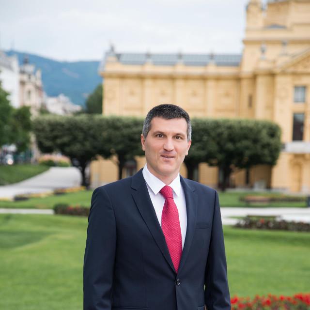 Niksa Vukas, politički tajnik SDP-a