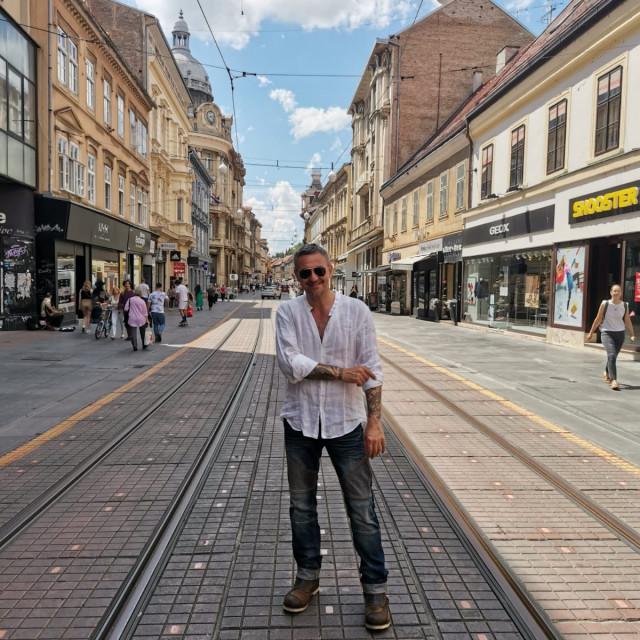 Šetnja užim centrom grada Zagrebom Sandi Cenova