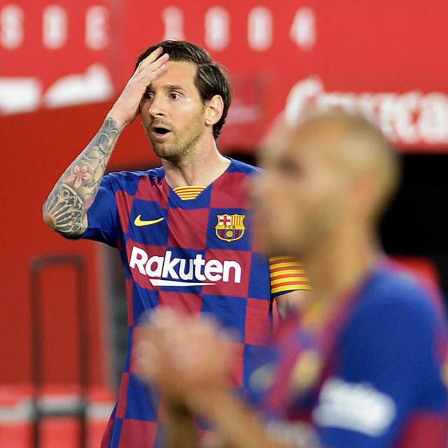 Lionel Messi ovako je reagirao nakon što je promašio jednu od prilika