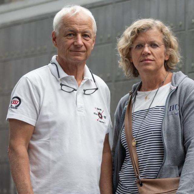 Dieter i Gertraud Heinz, Verena Heinz (u krugu)