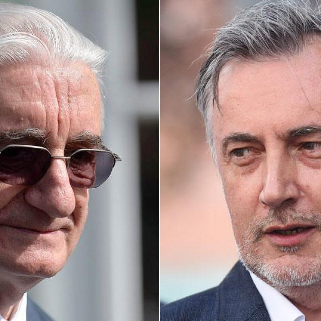 Miroslav Tuđman i Miroslav Škoro