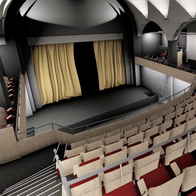 Vizualizacija obnove bjelovarskog kazališta