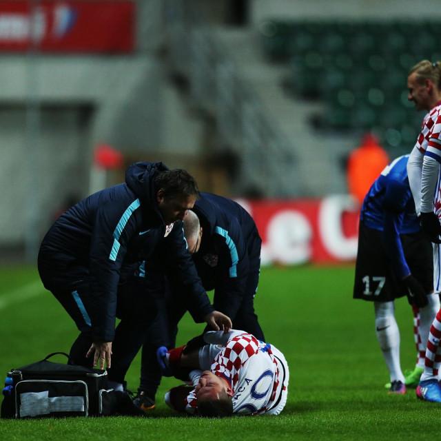 Nakon ovog trenutka sve je krenulo nizbrdo: Teška ozljeda Marka Pjace na utakmici protiv Estonije