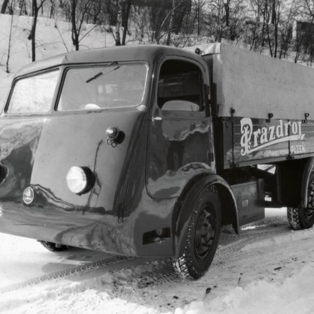 Škoda el. kamion za pivo