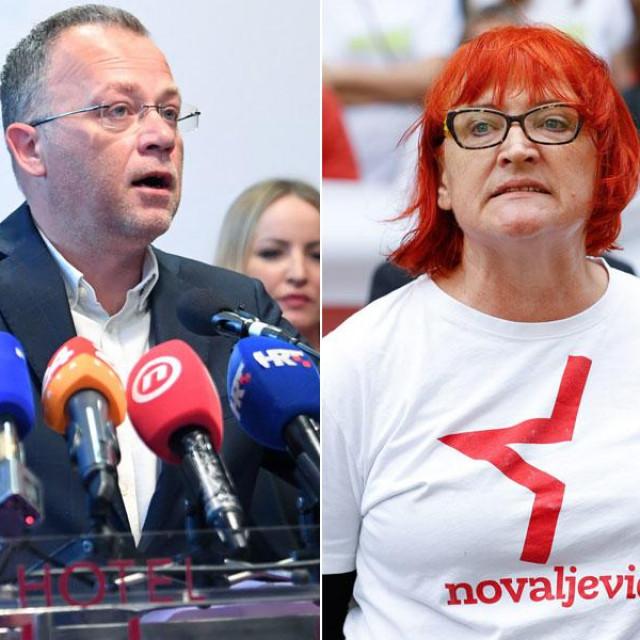 Zlatko Hasanbegović i Rada Borić