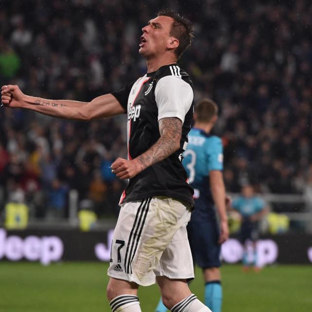 Mario Mandžukić iz vremena dok je igrao za Juventus