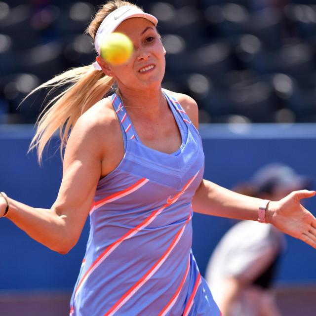 Donna Vekić igrala je protiv Olge Danilović u Zadru