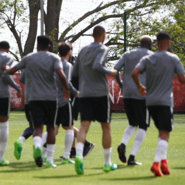Trening Monacovih nogometaša