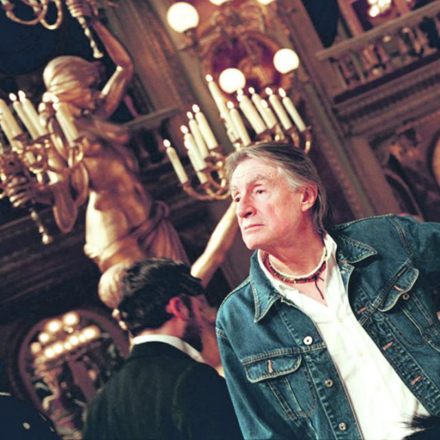 Joel Schumacher na snimanju 'Fantoma iz opere'