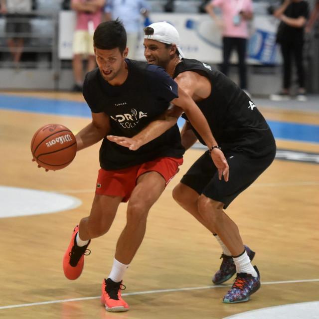 Sudar Novaka i Grigora Dimitrova u Zadru, ali na košarkaškom terenu. Fotografija koja je obišla svijet...