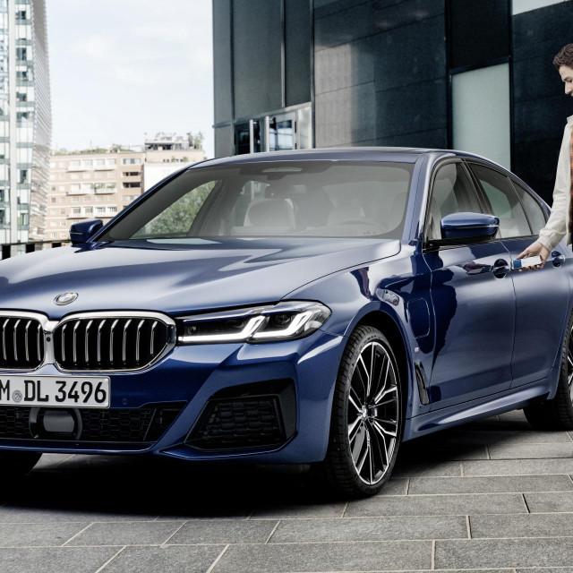 BMW digitalni ključ
