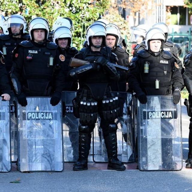 Ilustracija, crnogorska policija