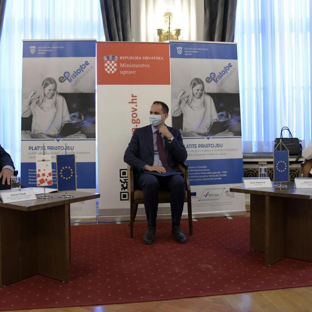 Ministarstvo uprave RH predstavilo je sustav e-Pristojbe