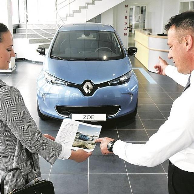 Kupovina električnog automobila