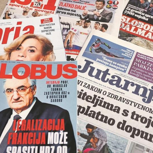novine, ilustracija