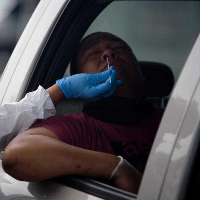 Testiranje na koronavirus u Houstonu