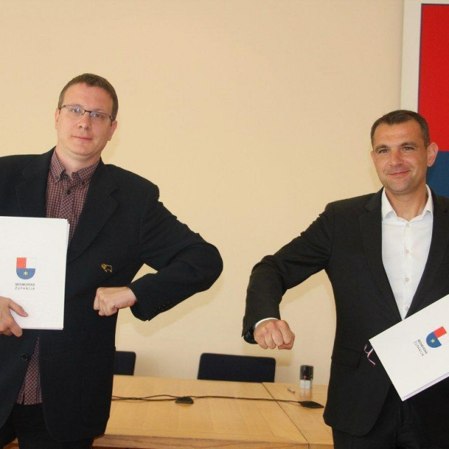 Direktor tvrtke Fortis Labor Lorenzo Gašparić i Matija Posavec