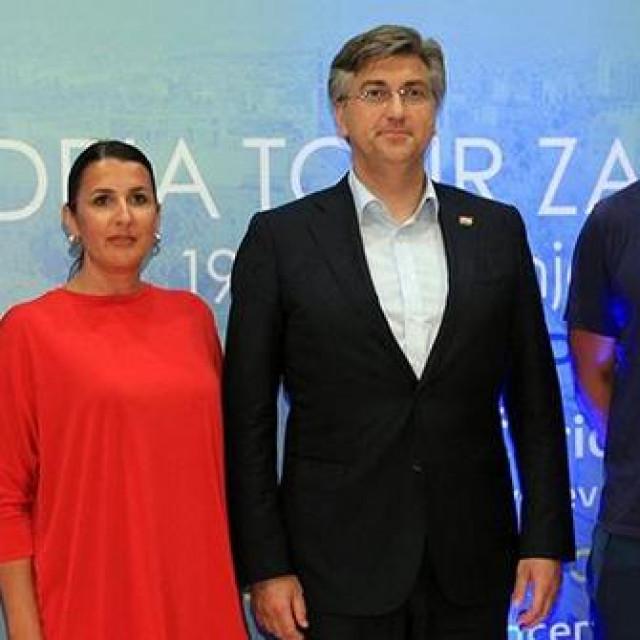 Plenković s Đokovićem i Ivaniševićem u Zadru