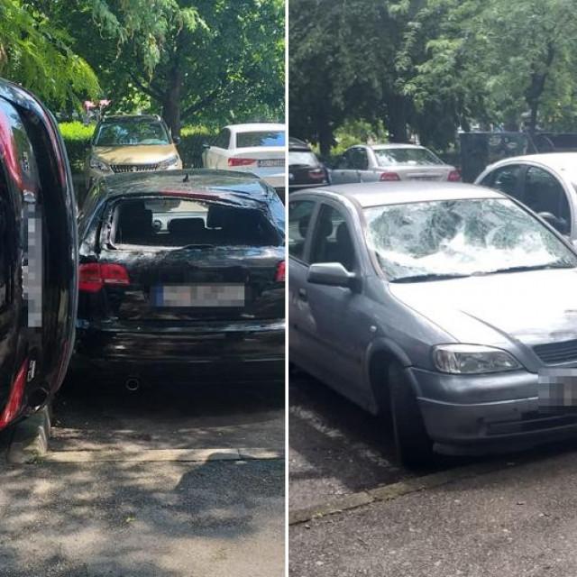 Prometna nesreća u Ulici Bartola Kašića u Zagrebu
