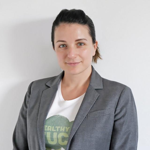 Aleksandra Đermanović, vlasnica agencije Mediacor (glavna fotografija)