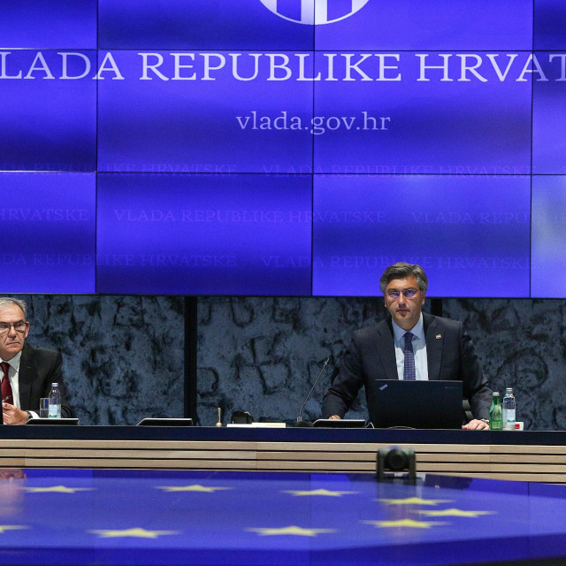 """Government session: """"Our life with the virus continues, we have to be aware of that"""", PM Plenkovic said"""