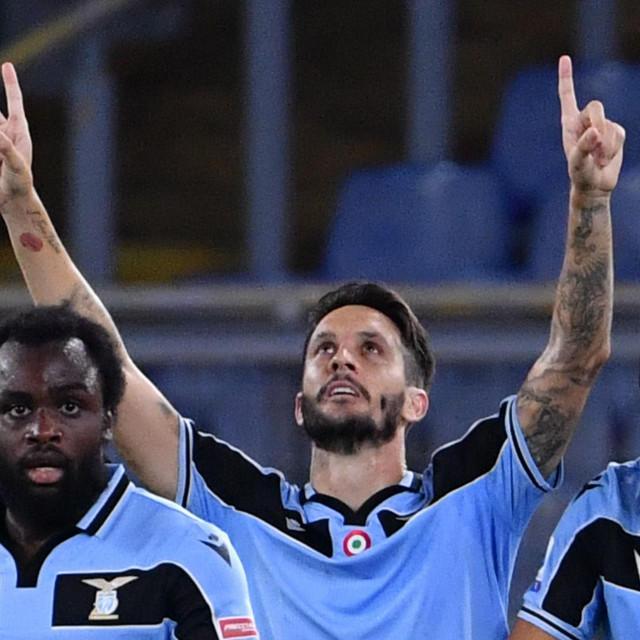 Luis Alberto (u sredini) slavi pobjednički pogodak