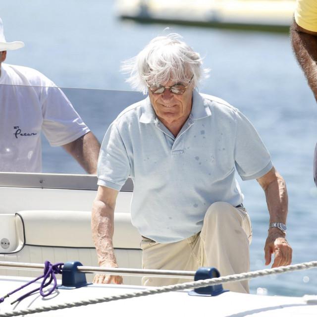Bernie Ecclestone na Hvaru / arhivska fotografija