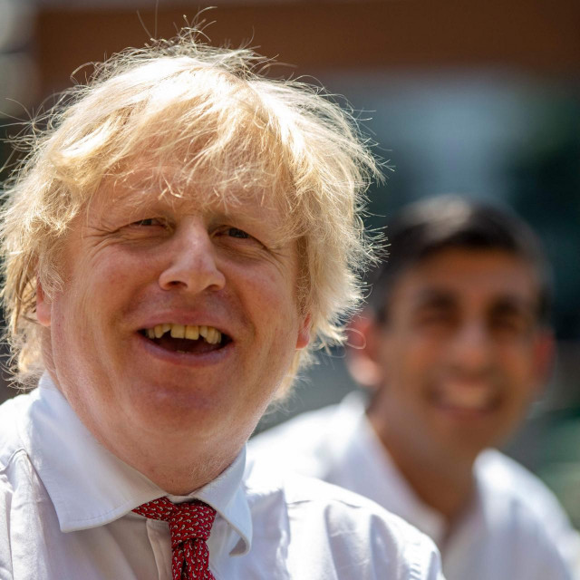 Britanski premijer Boris Johnson