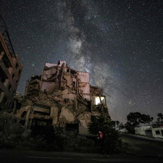 Prizor iz Sirije, ilustracija