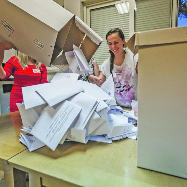 Prebrojavanje glasačkih listića