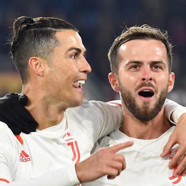 Miralem Pjanić i Cristiano Ronaldo