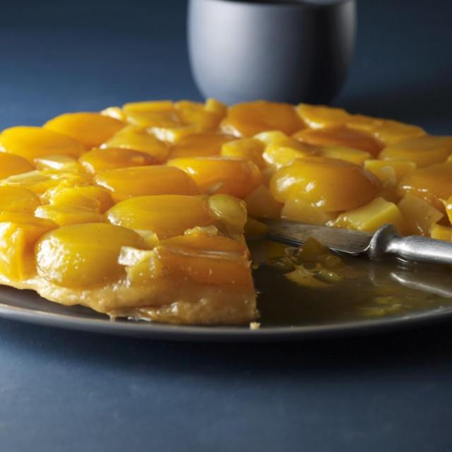 Preokrenuti kolač s marelicama