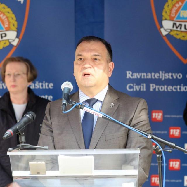 Konferencija Nacionalnog stožera za civilnu zaštitu.