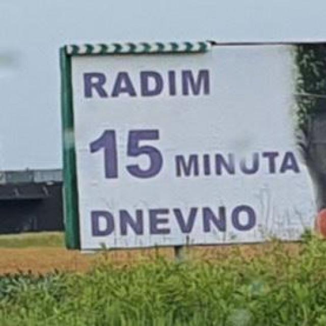 Plakati s likom Radimira Čačića