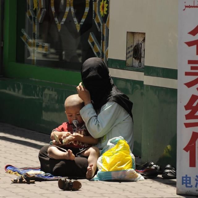 Ujgurka u Urumqiju u regiji Xinjiang