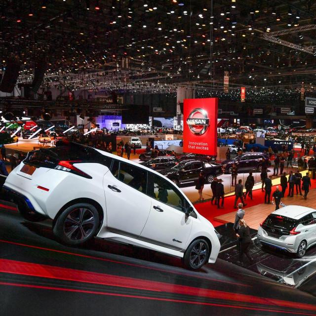 Geneva Motor Show 2018.<br />