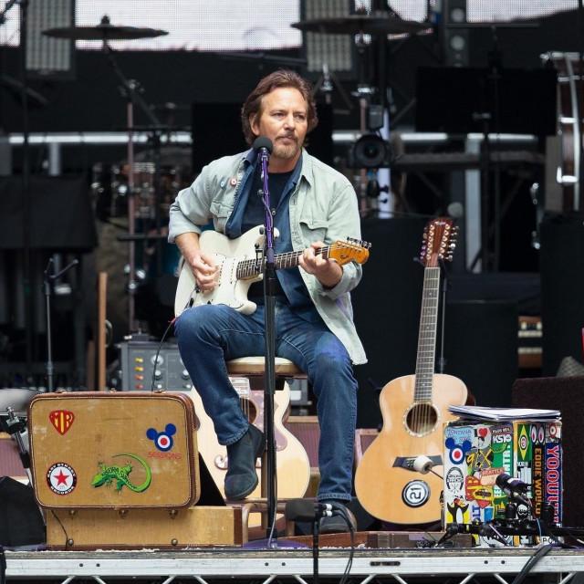 Eddie Vedder, pjevač Pearl Jama