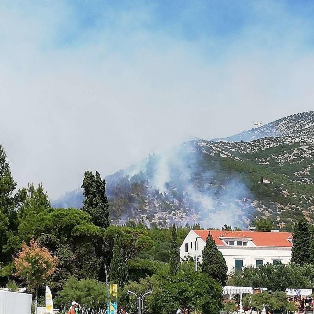 Požar u Kučištu
