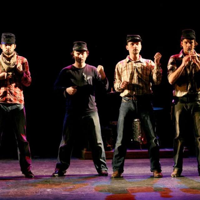 Predstava 'Kauboji' dio je stalne postave Teatra EXIT.