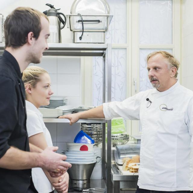 Deniz Zembo, chef restorana u hotelu Amfitetar